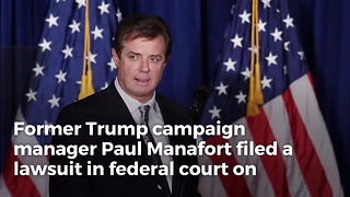 Following Russia Investigation Indictment, Paul Manafort Has A Special Message For Mueller - Video