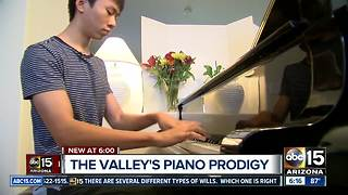 Valley teen battles childhood illness to become piano prodigy - Video