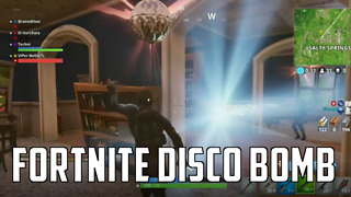 Fortnite Disco Bomb  - Video
