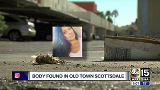 Woman found dead in Old Town Scottsdale Monday - Video