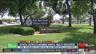 Safely back to School: plans for mental health