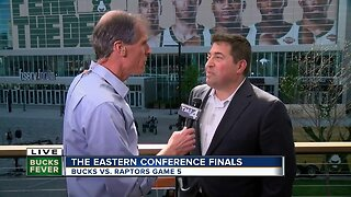Bucks President Peter Feigin talks with Charles Benson ahead of pivotal Game 5