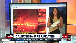 Northern California Wildfire Update - Video
