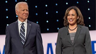 Joe Biden skewered for asking Kamala Harris 'Go easy on me, kid'