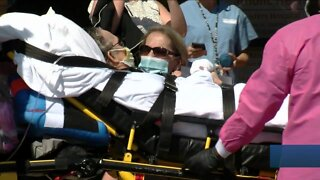 Man gets released from the hospital after 11 weeks