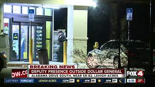 Deputy investigation at Dollar General in Lehigh Acres - Video