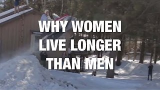 This Might Be Why Women Live Longer Than Men - Video