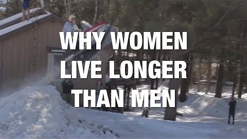 This Might Be Why Women Live Longer Than Men