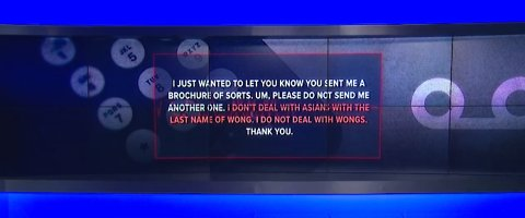 Las Vegas woman shocked by 'don't deal with Asians' voicemail