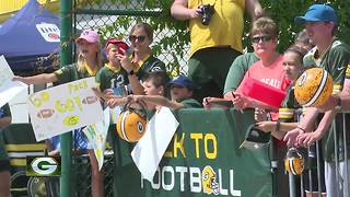 Rail birds ready for Packers season - Video