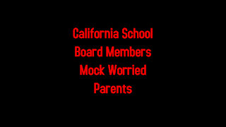 California School Board Members Mock Worried Parents 2-18-2021
