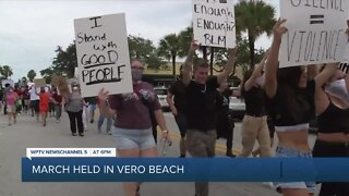 Vero Beach police hold event with protesters