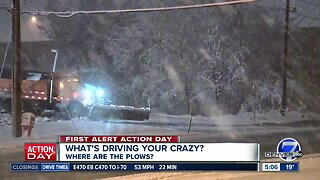 What's Driving You Crazy? Where are the Plows?