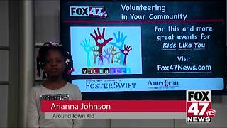 Around Town Kids 8/10/18: Community volunteering - Video