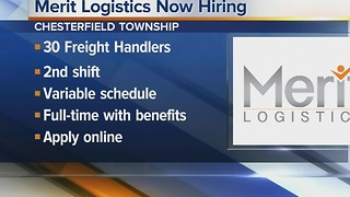 Workers Wanted: Merit Logistics now hiring - Video