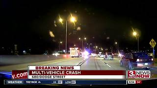 I-680 crash - Video