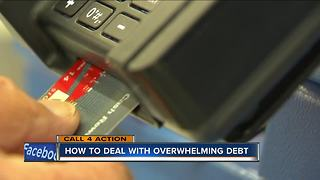 Call 4 action: How to deal with overwhelming debt