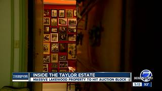 Inside the Taylor estate - Video