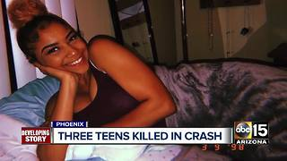 Family mourns after deadly crash kills teen