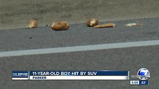 Douglas County deputies look for driver who hit 11-year-old boy, drove off - Video