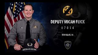 End of Watch call for fallen El Paso County Deputy Micah Flick - Video