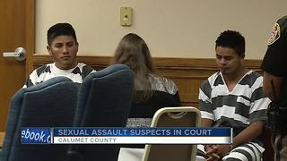 Two men charged for Appleton sexual assault - Video