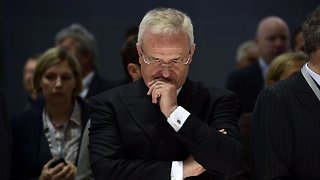 Former Volkswagen CEO Charged In Emissions Scandal