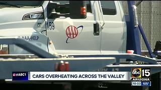 Rising temperatures creating more service calls for AAA