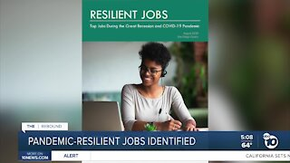 Pandemic-resilient jobs identified