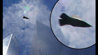 Unidentified Aircraft Snapped Over World Trade Center Ground Zero!