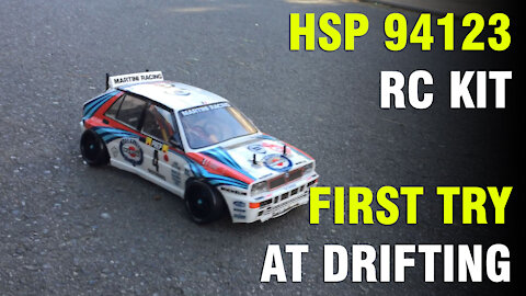 HSP 94123 First Try At Drifting!
