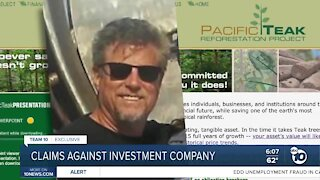 Claims against Oceanside investment company