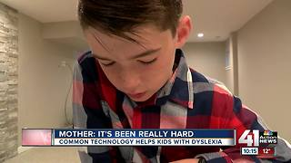 How technology helps dyslexic students learn - Video