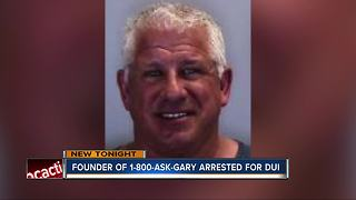 Gary, of 1-800-ASK-GARY arrested for DUI - Video