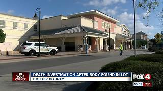Body found at Naples Walmart parking lot - Video