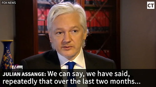 Assange: Russia Never Gave WikiLeaks Hacked Documents - Video