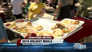 Gospel Rescue Mission in need of donations for Thanksgiving banquet
