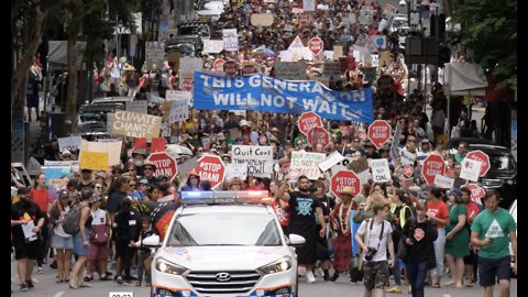 Thousands Gather in Cities Around Australia to Protest Adani Coal Mine