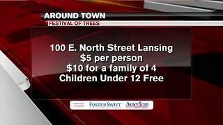 Around Town 12/4/17: Festival of Trees - Video