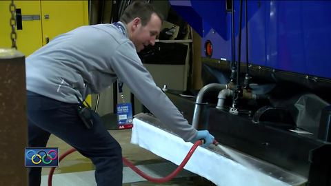 Milwaukee man lives out dream job as Olympic ice maker