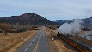 Rocky Mountain Train