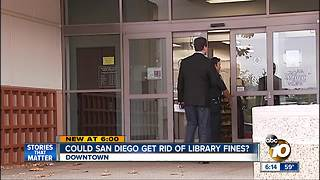 San Diego considering getting rid of library fines - Video