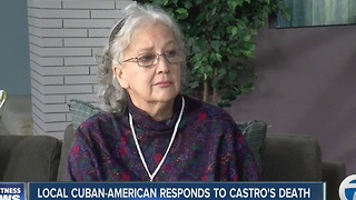 Coral Hetzner reacts to Fidel Castro's death - Video