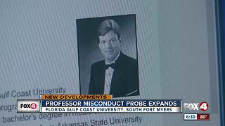 New details emerge about probe into FGCU professor - Video