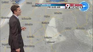 Your Monday afternoon forecast