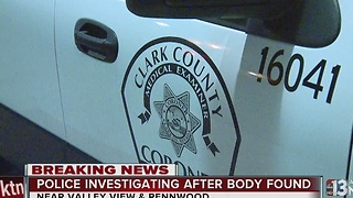 Police investigate body found inside apartment - Video