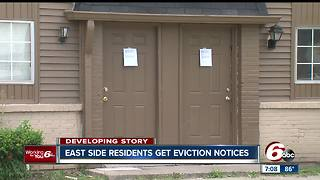 East side residents get eviction notices - Video
