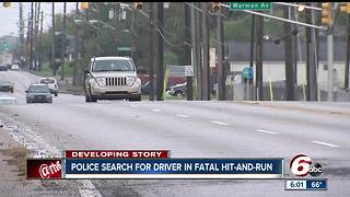 Police search for driver in fatal hit-and-run that killed 72-year-old man - Video