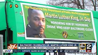 Baltimore celebrates Martin Luther King Jr. Day - Video