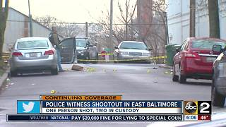 E Baltimore shootout - Video